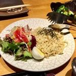 北海道食市場丸海屋 - 北海道らーめんサラダ 760円(税別)