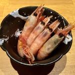北海道食市場丸海屋 - お通し 380円(税別)