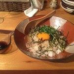 日本酒ばる のの - のののTKG¥580 李白 総額¥4410