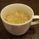 ボーノロッソ - 卵スープ