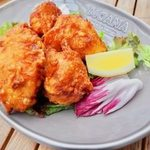 MOANA cafe&diner - 日向鶏の唐揚げ