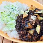 MOANA cafe&diner - KURO なすとひき肉のカレー