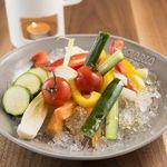 MOANA cafe&diner - 埼玉県産野菜のバーニャカウダ