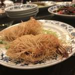 重慶飯店 - 海鮮入りカダイフ巻き揚げ
