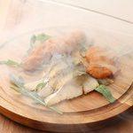 MOANA cafe&diner - 魚介の燻製盛り合わせ