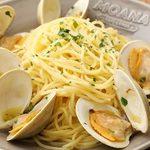 MOANA cafe&diner - 白ハマグリのアーリオオーリオ