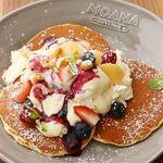 MOANA cafe&diner - レアチーズパンケーキ