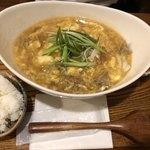 うどん小屋 柔製麺 - まぜてカレーセット1180円