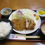 とんかつ恵比寿 - 料理写真:上ロース