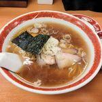 90743114 - かづ屋(支那そば799円+ランチセットの醤肉飯201円)