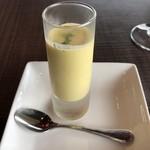 ロティスリー レイ - LINE@お友達限定得点の冷製スープ