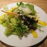 レストランバー YUME - セットのサラダ
