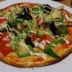 オーガニックカフェ・ラムノ - ピザ