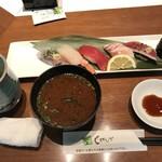 回転寿司しげなが - 料理写真:サービス握り 得セット=950円 税別