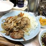 90746588 - 豚ショーガ焼き定食 ¥780