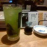 """呑毛笑店 ゑぶり亭"""" - 香ばし茶"""