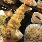 萱笑 - 天然大えび天ぷら