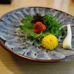 うな慎 - 料理写真:鰻の刺身