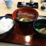 うな慎 - 蒲焼き定食