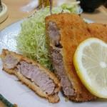 かつ亭 - 料理写真:2018年 トンカツ定食¥950