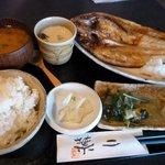 和風ダイニング 二葉 - 「おひるごはん」、メインは焼き魚