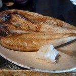 和風ダイニング 二葉 - この日の焼き魚は「ホッケの開き」