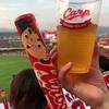 マツダズームズーム スタジアム広島 - ドリンク写真:生ビール