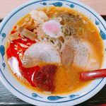 古関パーキングエリア 下り - 料理写真:辛味噌ラーメン 800円