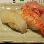 福山ニューキャッスルホテル ビアホール - お寿司(2018.08.11)