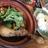 くーかい?×45395 - 料理写真:赤スープカリッとチキン(1,100円+100円)