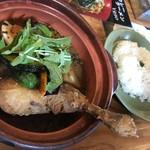 45395 - 赤スープカリッとチキン(1,100円+100円)