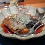 創作和食とだし巻き揚げサンド WATANABE - いさきの煮魚