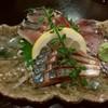 とも - 料理写真:オススメ!三浦の松輪サバの炙り