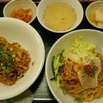 90755565 - ピビン麺&キムチ焼きめしセット