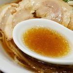 松戸中華そば 富田食堂 - 醤油の活きた味わい