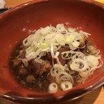 蕎麦前処 二尺五寸 - 豚軟骨煮