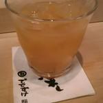 鮨でですけ - グレープフルーツジュース