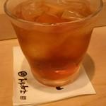 鮨でですけ - ウーロン茶