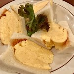 喫茶ガボール - 「コロナの玉子サンドイッチ・元味」¥680