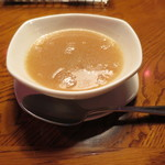 アウトバック ステーキハウス - ランチのスープ