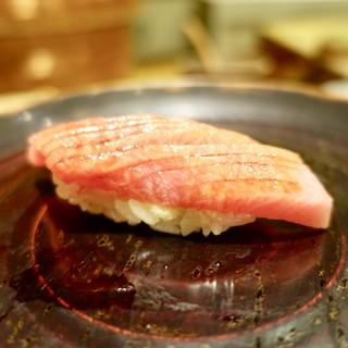 鮓や 大東 - 料理写真:[2018/08]寿司③ ニュージーランド産まぐろの握り