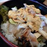 季節料理 いすず - 【ウニ丼定食 3675円】