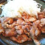 9076931 - 豚肉の生姜焼き