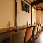 Natural 和 dining わしん - 二階カウンター席