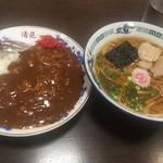 清見そば本店 - ラーメン&カレーライス