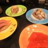 mawarutoyamawansushitama - 料理写真:この4皿でスタート
