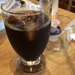 珍万 - ランチセットのコーヒー