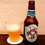 あさり食堂 - 常陸野ネストビール ホワイトエール(800円)