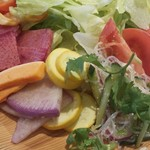 旬菜食健 ひな野 - 色々な野菜がたくさん。