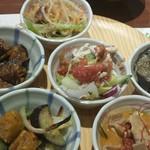 旬菜食健 ひな野 - ナス料理が多かったな~。